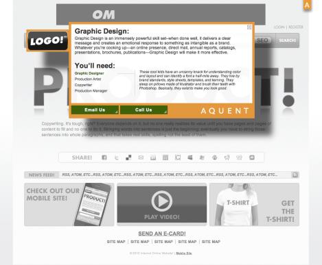 Landing Page- Logo Rollover
